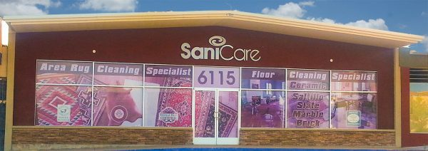 SaniCare Carpet Cleaning storefront