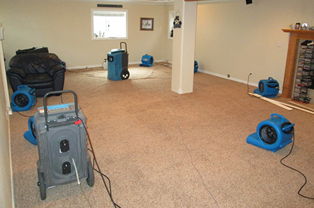water damage and remediation