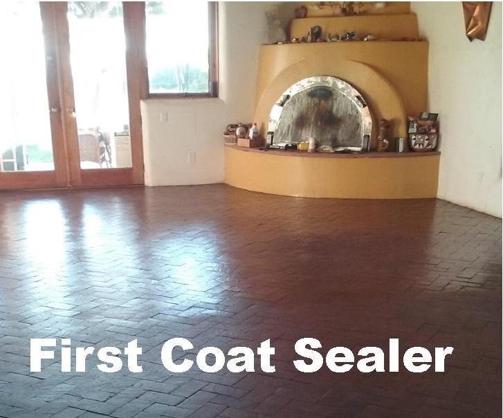 Brick Floor Sealer Sanicare Carpet Cleaning Albuquerque
