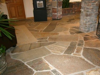 Flagstone Tile Cleaning And Sealing Sanicare Carpet